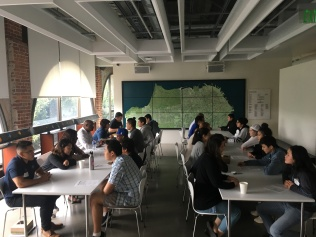 speed mentoring event w Autodesk employees