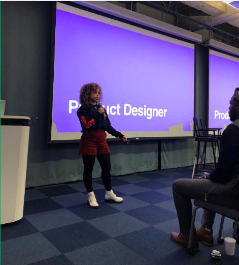 Maya Patterson, Product Designer, Facebook
